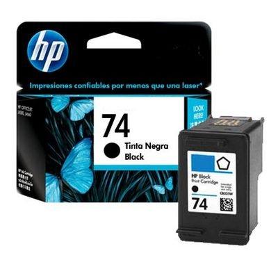 Tinta Hp 74 marca HP