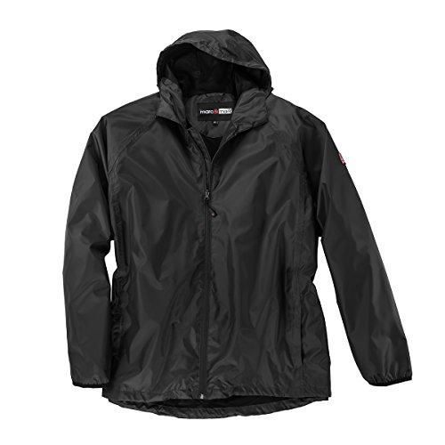 Abraxas leichte XXL Regenjacke schwarz, XL Größe:6XL