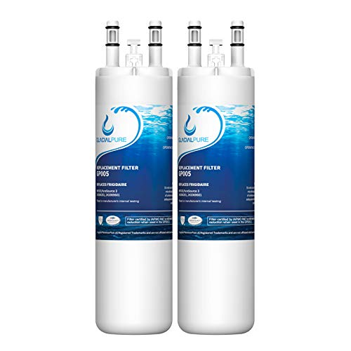 WF3CB Compatible Refrigerator Water Filter Replacement Pure Source 3, white - (2packs)