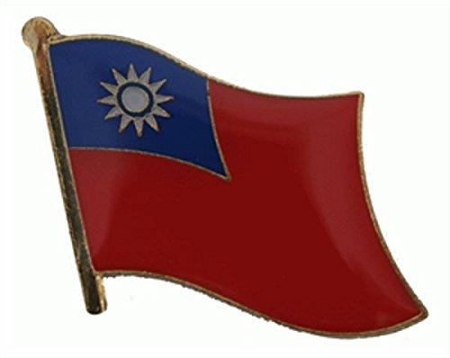 U24 vlaggenpin Taiwan-vlag vlag pin stekker