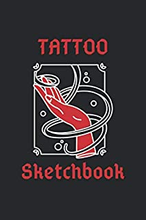 Tattoo SketchBook: detailed pages  for professional tattooists and students 80 pages