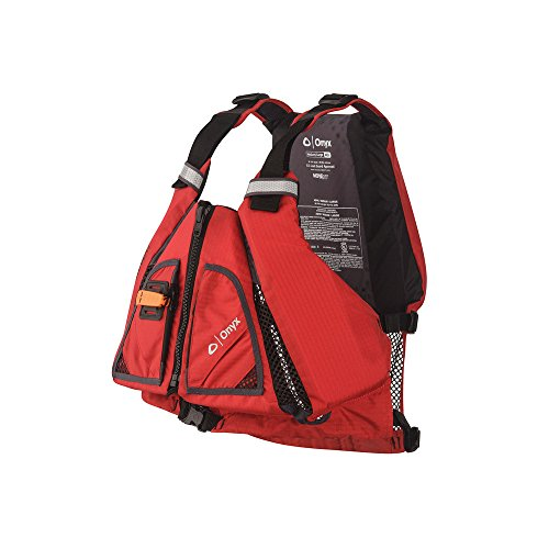 ONYX MoveVent Torision Paddle Sports Life Vest, Red, X-Large/XX-Large