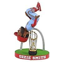 Ozzie Smith St. Louis Cardinals Flip with Gateway Arch - Powder Blue Bobblehead