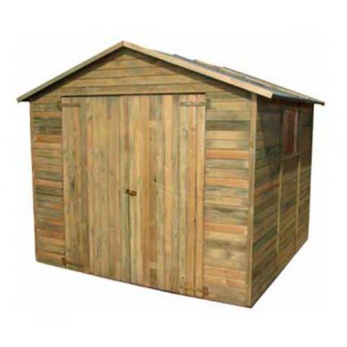 Casetta in legno a pannelli 250 x 243 x 233 cm Mod. St. Moriz