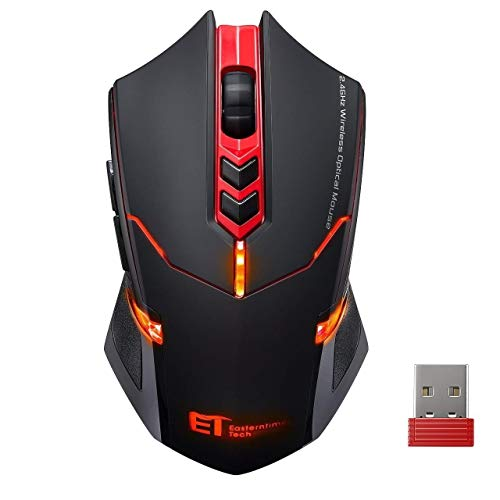 Wireless Mouse【7 Silent Click Buttons】 VicTsing 2.4G Professional Cordless Gaming & Office...