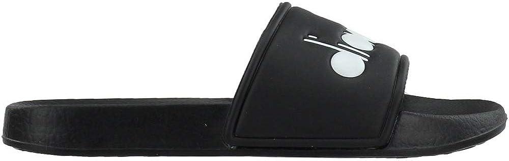 Diadora Mens Serifos '90 Slides Sandals Casual - Black
