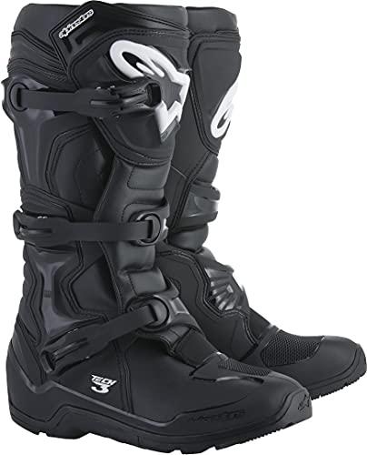 Alpinestars Unisex-Adult Tech 3 Enduro Boots Black Sz 11 (Multi, one_Size)