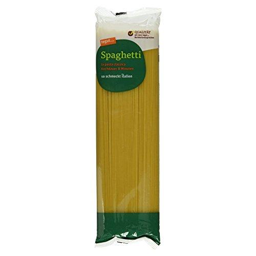 tegut... Italienische Nudeln Pasta Spaghetti - Teigware aus 100% Hartweizengrieß - Spezialität aus Italien