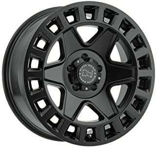 "4-Black Rhino York 18x9 5x5/5x127-12 Matte Black Wheels Rims 18"" inch"