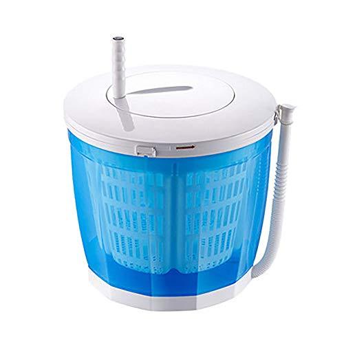 JL Tragbare Öko-Waschmaschine, Mini-Waschmaschine, Handbetriebenes Waschen, Doppelwaschzyklen, großes Fassungsvermögen von 5 Litern, Reinigen, Spülen, Kompaktes Design [Energieklasse A]
