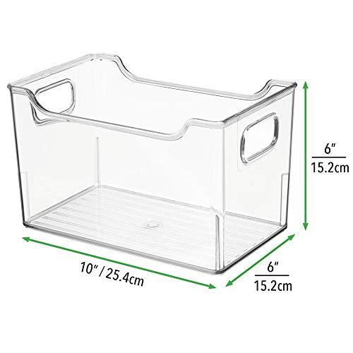 mDesign Fiambreras para el frigorífico – Cajas de plástico para ...