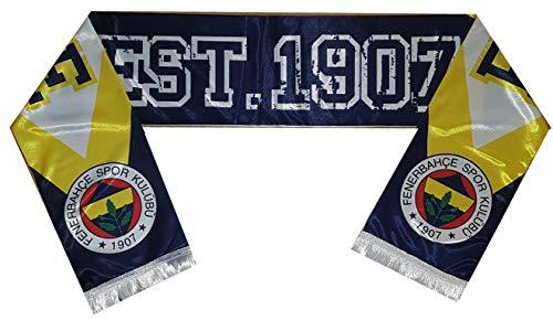 Fenerbahce Istanbul - Schal - Atki FB 1907 - Kanarya Fanschal Sari Lacivert