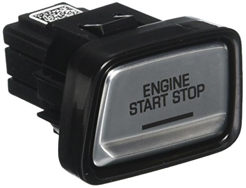 ACDelco 23402526 GM Original Equipment Galvano Silver Ignition Start/Stop Switch with Piano Black Bezel