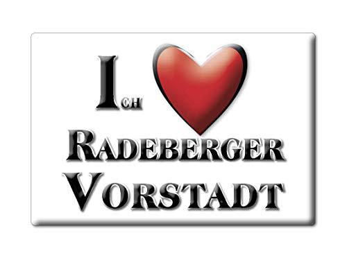 Enjoymagnets RADEBERGER VORSTADT (SN) Souvenir Deutschland Sachsen Fridge Magnet KÜHLSCHRANK Magnet ICH Liebe I Love