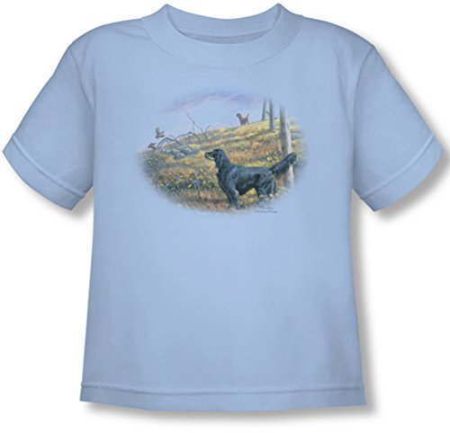 Wildlife - - Toddler Looking Back T-shirt, 3T, Light Blue