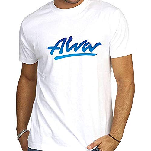 Alva Skate Skateboards Bones Independent Tony Hawk Men T-Shirt Graphic Top Tee Camiseta Short-Sleeve White XL