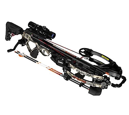 Barnett Archery HyperTac 420 Crossbow | Lightweight & Ultra-Compact Crossbow Shooting 420 Feet Per Second, Mossy Oak Elements Terra,One Size, BAR78119