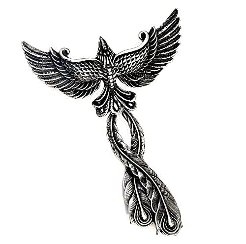 Stainless Steel Phoenix Pendant Phoenix...