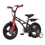 FUFU 14'16' Bicicleta para niños para niñas y niños de 3 a 8 años con Ruedas de Entrenamiento y Frenos de Mano (Color : B, Size : 16in)