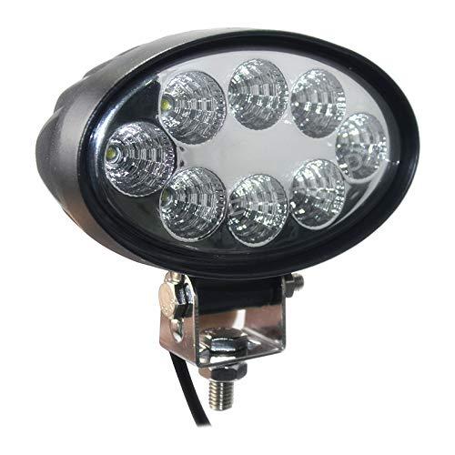 LED Barre,JieHe 72W Phares Longue Port/ée Led Projecteur pour Led Work Light LED Phare Lampe Pour Chantier V/éhicules SUV ATV et Camion Tout-terrain 72W)