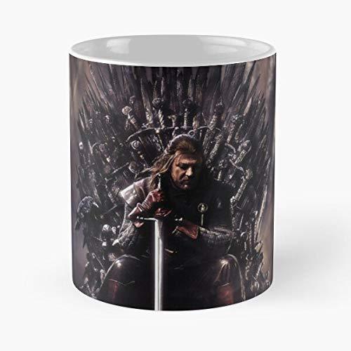 Desconocido Thrones Games Movies Taza de café con Leche 11 oz