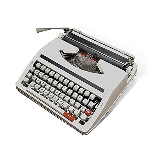ZXNQ Máquina de Escribir Olivetti lettera, Retro Inglesa mecánica Regalo literario - La exhibición de la colección Puede Escribir - Instrumento de Escritura 30 * 30 * 10CM
