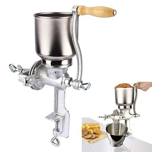 JALAL Molinillo/Molino Manual para Maíz/Granos/Semillas/Café/Nueces, Herramienta de Cocina