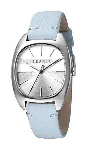 Esprit Damen Analog Quarz Uhr mit Leder Armband ES1L038L0035