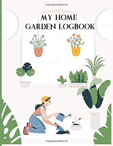 My Home Garden Log Book: Gardening Planner and Log Book | Dot Grid Pages...