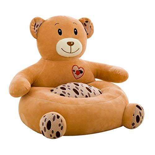 Niedliche Tiere Sitzsackhülle Sitzsack Bezug Hülle ohne Füllung für Kinder - Bär