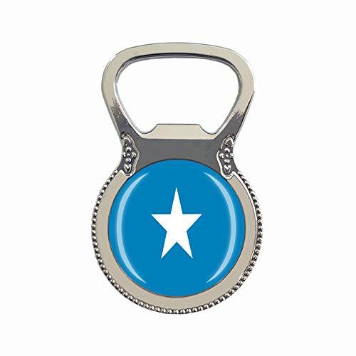 Bierflaschenöffner, Motiv: Somalia-Flagge, Kühlschrankmagnet, Metall, Glas, Kristall, Reise-Souvenir, Geschenk, Heimdekoration