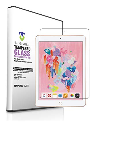 MOBIVIILE® 2.5D Curved 0.3mm Flexible Gorilla Tempered Glass Screen Protector Shield for Apple iPad Pro 10.5 (2019),Apple ipad Air 3