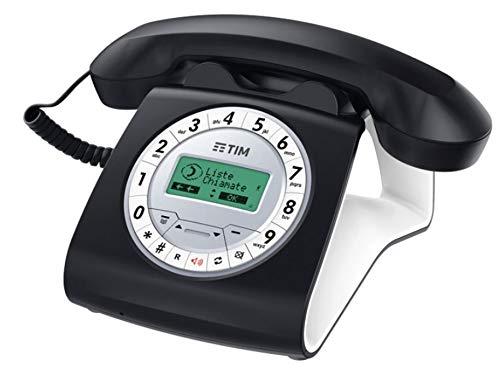 Tim Sirio Classic Telefono a Filo, Nero