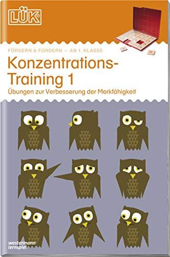 LÜK-Übungshefte: LÜK: 1./2./3./4. - Fördern & Fordern: Konzentrationstraining 1: Fördern und Fordern / 1./2./3./4. - Fördern & Fordern: Konzentrationstraining 1 (LÜK-Übungshefte: Fördern und Fordern)