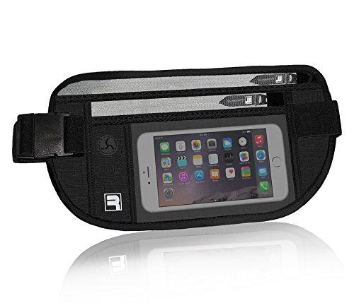 RFID Reise Geldgürtel – Verborgende Hüfttasche mit RFID-Blockierung Sicherheits