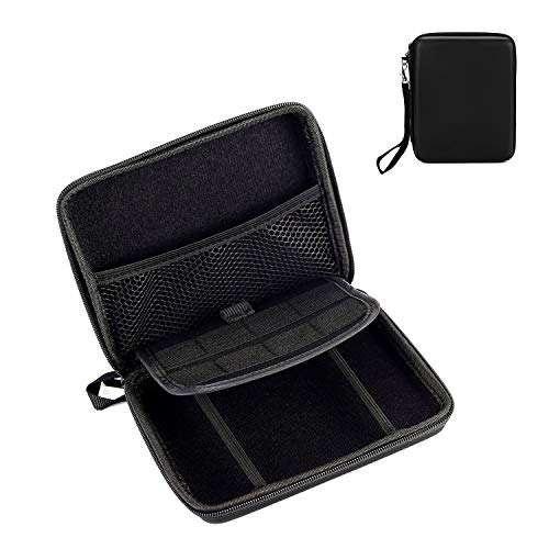 OOTSR Carrying Storage Case for Nintendo 2DS, Waterproof Travel Hard Protective Case for Nintendo 2DS, Black