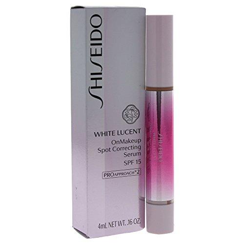 Sérum Clareador Facial White Lucent Shiseido - OnMakeup Spot Correting Serum SPF25 PA+++ Natural Light