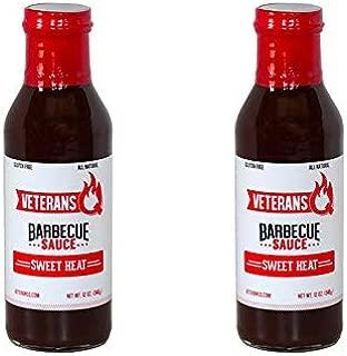 Veterans Q Barbecue Sauce (Sweet Heat, 2 Bottles)