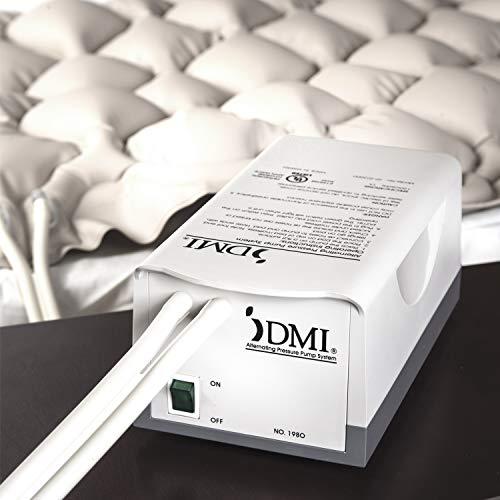 DMI Alternating Pressure Pad, Alternating Pressure Mattress Pad with Quiet Pump, Twin Size, Tan