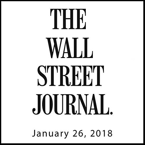 January 26, 2018 copertina