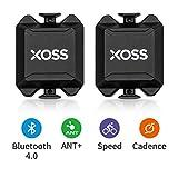 XOSS Cadencia/Velocidad Sensor para la computadora de la Bici...