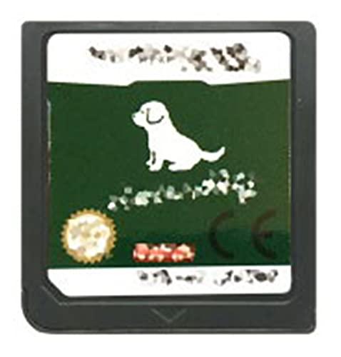 TYLJ MYBHD DS Casete de Juego con Tarjeta de Consola para Nintendo DS 3DS 2DS (Color : Ninten Dogs EUR)