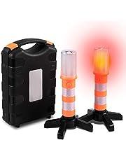 Sailnovo Kits de Emergencia del Coche Portátil, Botiquín de Emergencia Asistencia en Carretera Multifuncional Seguridad Automóvil