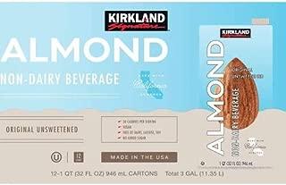 Kirkland Signature Almond Milk, 12 x 32 oz