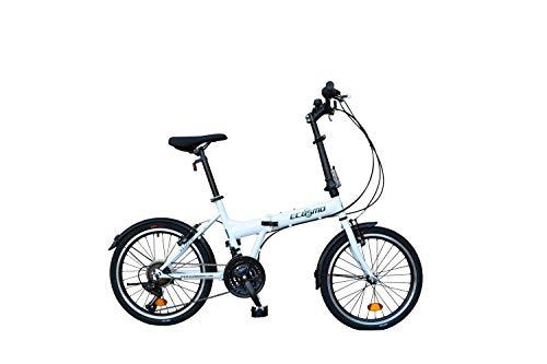 20' Folding City Bicycle Bike 21SP - 20F03W