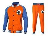 CoolChange Dragon Ball Son Goku Trainingsanzug im Baseball Style mit Jacke und Hose, Größe: S