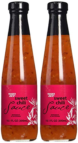 Trader Joe's Sweet Chili Sauce 10.1 Fl. Oz. (Pack of 2)