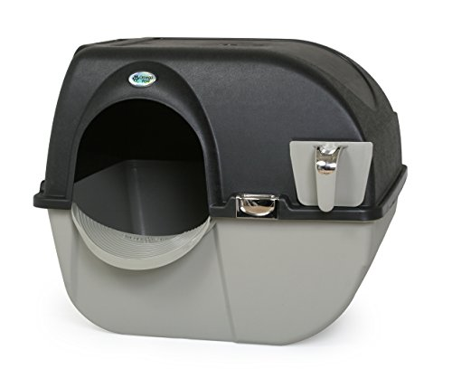Cleaning tools - picture of Omega Paw Roll N Clean Self Separating Self Cleaning Litter Box