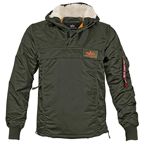 Alpha Ind. HPO Windbreaker Dark Green - S