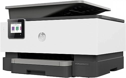 HP OfficeJet Pro 9010, Imprimante à Jet d'encre Multifonction, Impression, Numérisation, Photocopie, Télécopie, Wi-Fi...